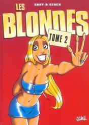Les Blondes T.2 - Intérieur - Format classique