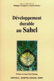Developpement Durable Au Sahel - Couverture - Format classique