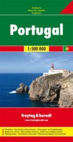 Portugal 1 : 500 000 - Couverture - Format classique