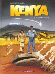 Kenya T.1 ; apparitions  - Rodolphe - Leo