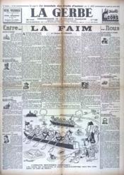 Gerbe (La) N°42 du 24/04/1941 - Couverture - Format classique
