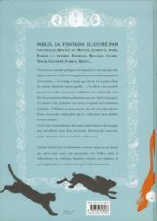 Fables ; La Fontaine illustré par... - 4ème de couverture - Format classique