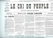 Fac Simile. Le Cri Du Peuple N° 20 Du 30 Mars 1871. - Couverture - Format classique