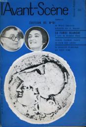 L'AVANT-SCENE - FEMINA-THEATRE N° 186 - EDITION DE MIDI de MIBAIL SEBASTIAN présentée par A. DUPRONT - Couverture - Format classique