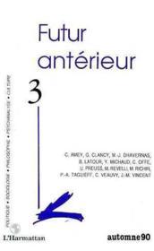 Futur Anterieur 3 - Couverture - Format classique