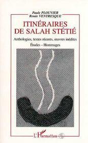 Itineraires De Sahah Stetie - Intérieur - Format classique