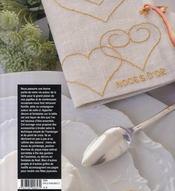 Décors de table brodés ; hardanger et point de croix - 4ème de couverture - Format classique