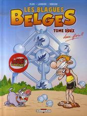 Les blagues belges t.2 ; tome deux fois - Intérieur - Format classique