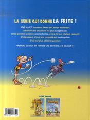 Les blagues belges t.2 ; tome deux fois - 4ème de couverture - Format classique