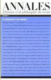 Annales D'Histoire Et De Philosophie Du Vivant, N 3 - Intérieur - Format classique