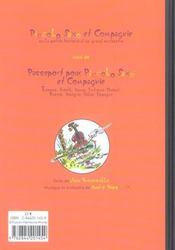 Piccolo Saxo et compagnie ou la petite histoire d'un grand orchestre - 4ème de couverture - Format classique