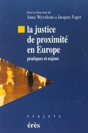 Justice De Proximite En Europe - Intérieur - Format classique