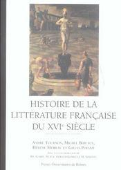 Histoire De La Litterature Francaise Du 16e Siecle - Intérieur - Format classique