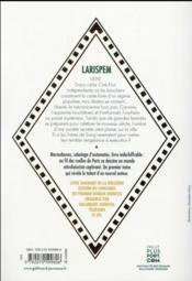 Les mystères de Larispem t.1 ; le sang n'oublie jamais - 4ème de couverture - Format classique