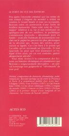 Les Voluptes De La Deveine - 4ème de couverture - Format classique