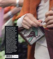 Sacs brodés au point de croix ; motifs de carreaux de faïence - 4ème de couverture - Format classique