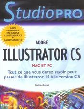 Vente livre :  Adobe Illustrator Cs Mac Et Pc  - Mathieu Lavant