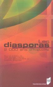 Les Diasporas ; 2000 Ans D'Histoire - Couverture - Format classique