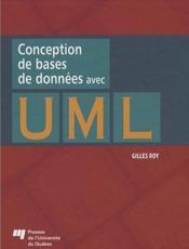 Conception de bases de données avec UML - Couverture - Format classique