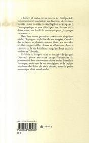 Rafaël le chauve - 4ème de couverture - Format classique