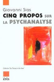 Cinq Propos Sur La Psychanalyse - Intérieur - Format classique