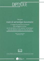 Tout petit traité de narratologie buissonnière - Couverture - Format classique