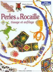 Perles de rocaille ; tissage et enfilage t.2 - Intérieur - Format classique