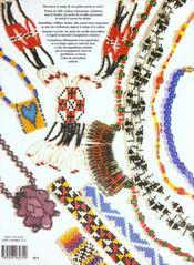 Perles de rocaille ; tissage et enfilage t.2 - 4ème de couverture - Format classique