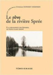 Le rêve de la rivière sprée - Couverture - Format classique