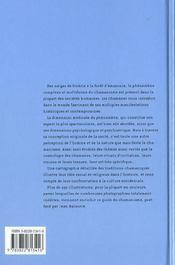 Ev-Les Chamanes - 4ème de couverture - Format classique