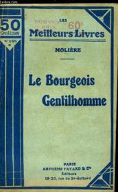 Le Bourgeois Gentilhomme - Couverture - Format classique