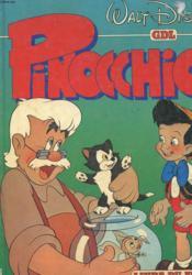 Pinocchio - Livre Du Film - Couverture - Format classique