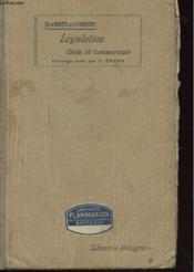 Legislation Civile Et Commerciale - Couverture - Format classique