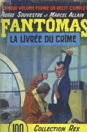 Fantomas - La Livree Du Crime - N°25 - Couverture - Format classique