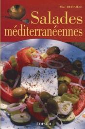 Salades méditerranéennes - Couverture - Format classique