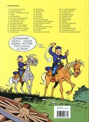 Les tuniques bleues t.16 ; Bronco Benny - 4ème de couverture - Format classique