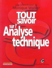 Tout Savoir Sur L'Analyse Technique - Intérieur - Format classique