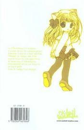 Pita-Ten T.4 - 4ème de couverture - Format classique