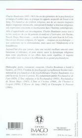 Psychanalyse Du Symbole Religieux - 4ème de couverture - Format classique