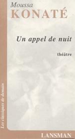 Un Appel De Nuit - Couverture - Format classique