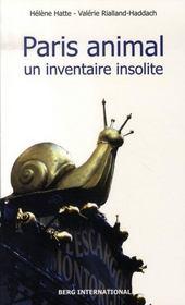 Paris animal ; un inventaire insolite - Intérieur - Format classique