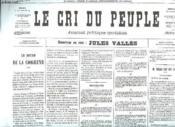 Fac Simile. Le Cri Du Peuple N° 80 Du 1 Avril 1871. - Couverture - Format classique