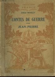 Contes De Guerre Pour Jean-Pierre - Couverture - Format classique