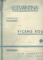 Llevantina - Sardana Piano. - Couverture - Format classique