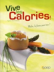 Vive les calories - Intérieur - Format classique