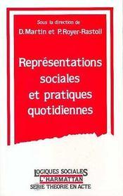 Representations Sociales Etpratiques Quotidiennes - Intérieur - Format classique