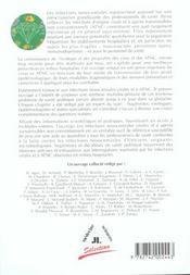 Les Infections Nosocomiales Virales Et A Agents Transmissibles Non Conventionnels - 4ème de couverture - Format classique