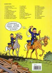 Les tuniques bleues t.17 ; el padre - 4ème de couverture - Format classique