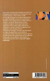 300 QCM de grammaire française (3e édition) - 4ème de couverture - Format classique