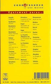 Les Fleurs du mal, de Charles Baudelaire - 4ème de couverture - Format classique